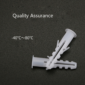 Plastic Expansion plug Nylon Self-tapping Screws Fixing Screw High Quality Cavity Anchor Bolts Pipe Plasterboard Wall