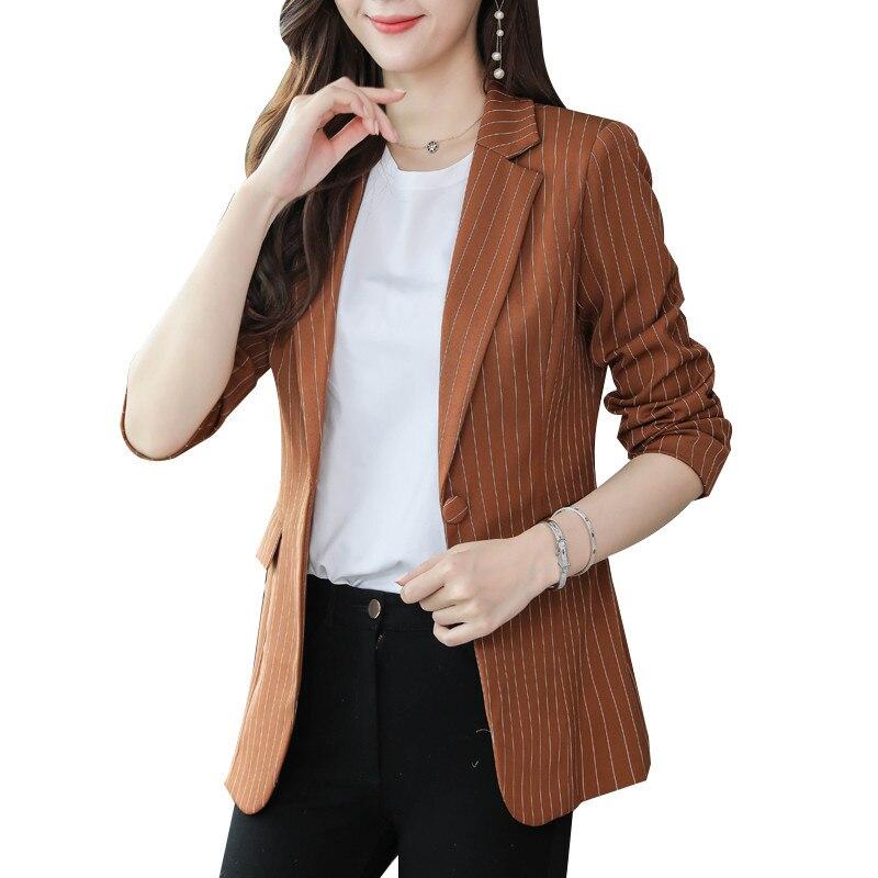 Plus Size 4XL Womens Business Suits Women Blazers Jackets Slim Elegant Blazer Casual Women Suit