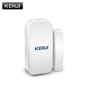 Image 2 - 25 stücke Kerui Home Alarm Drahtlose Tür Fenster Magnetische Detektor Lücke Sensor Für GSM Wifi Home Security Alarm System Touch tastatur