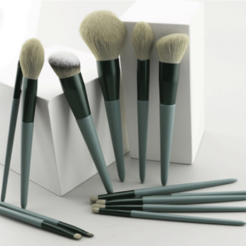 13pcs Quick-Drying Makeup Brush Sets Soft Blush Loose Powder Brush Highlight Eye Shadow Brush INS With Bag Portable Beauty Tools