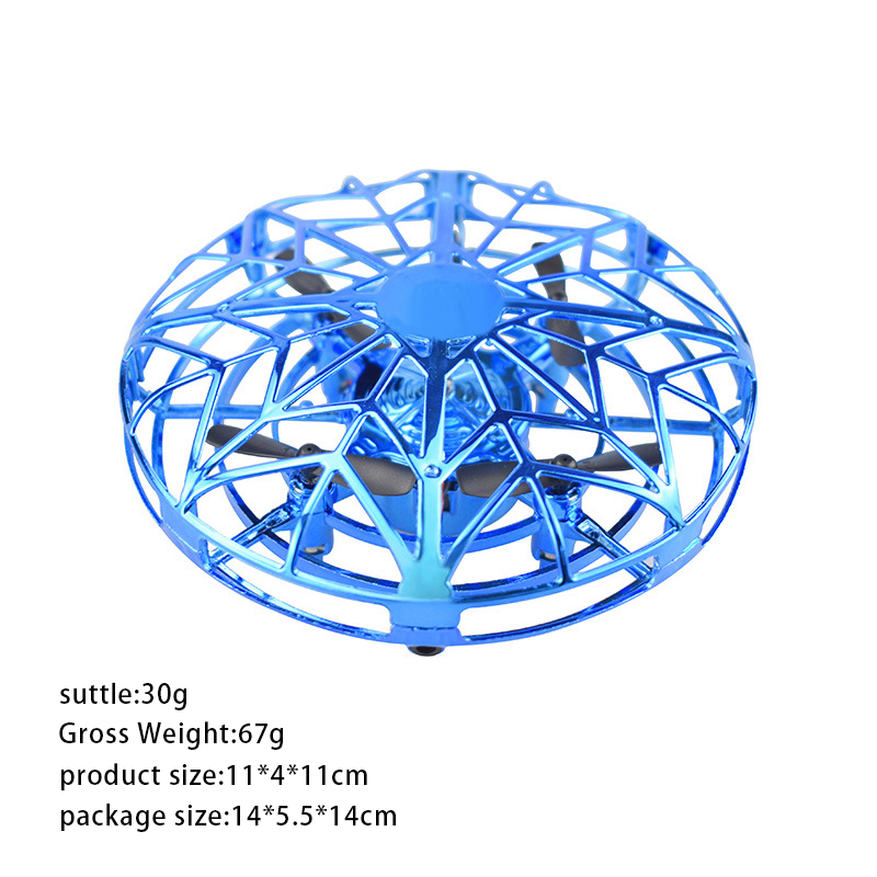 Mini UFO Drone Anti-collision Fly Helicopter Magic Hand UFO Ball Aircraft Sensing Induction Drone Kid Electric Electronic Toy