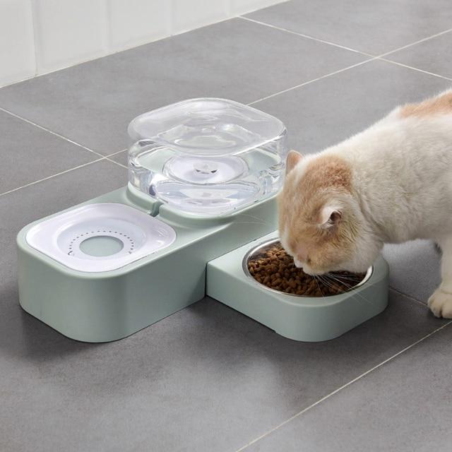 Kitten & Puppy Automatic Drinking & Feeding Station    2
