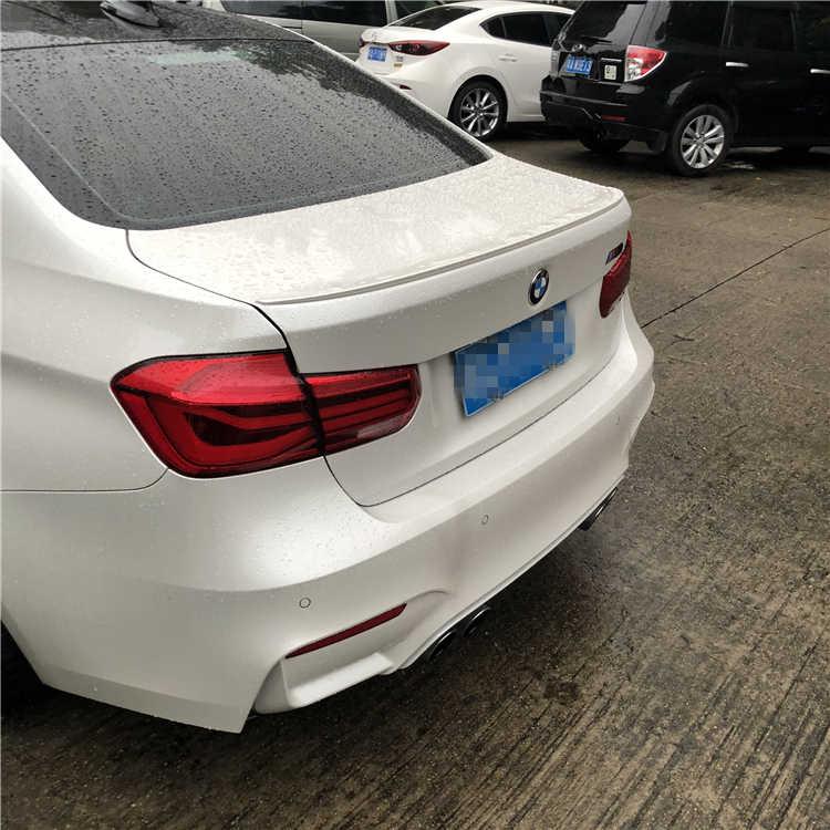 עבור BMW M3 F30 F35 ספוילר 2012-2016 320li325li F30 F35 באיכות גבוהה ABS חומר רכב אחורי אגף פריימר צבע אחורי ספוילר
