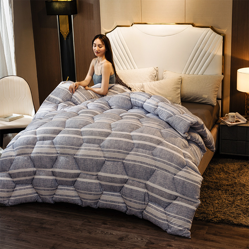 CF Very Warm Winter Thick Blanket/Home Hotel Down Duvet 4D Luxury Silk Down Quilt Soft Duvet Quilt Super King Sizes Comforter