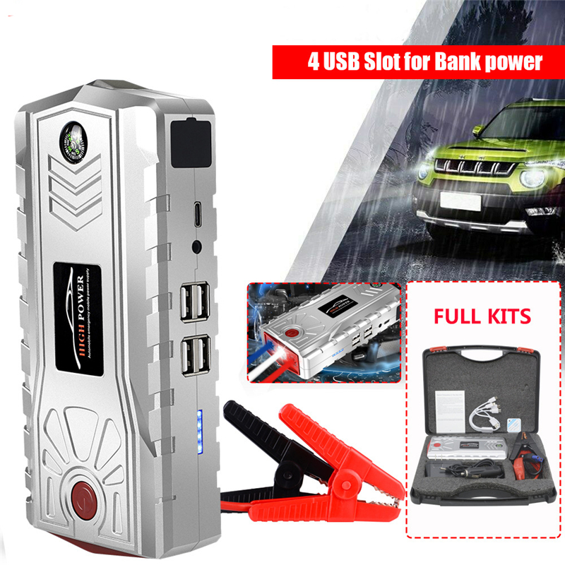 <font><b>12V</b></font> 800A Car Jump Starter Portable Emergency Charger Battery 28000mAh <font><b>Power</b></font> <font><b>Bank</b></font> <font><b>for</b></font> Mobile Phone Car Booster Starting Device image