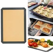 1 шт многоразовый экологический силиконовый коврик для выпечки антипригарный силиконовый коврик для духовки коврик для раскатки теста Коврик Для Выпечки Кондитерская глина