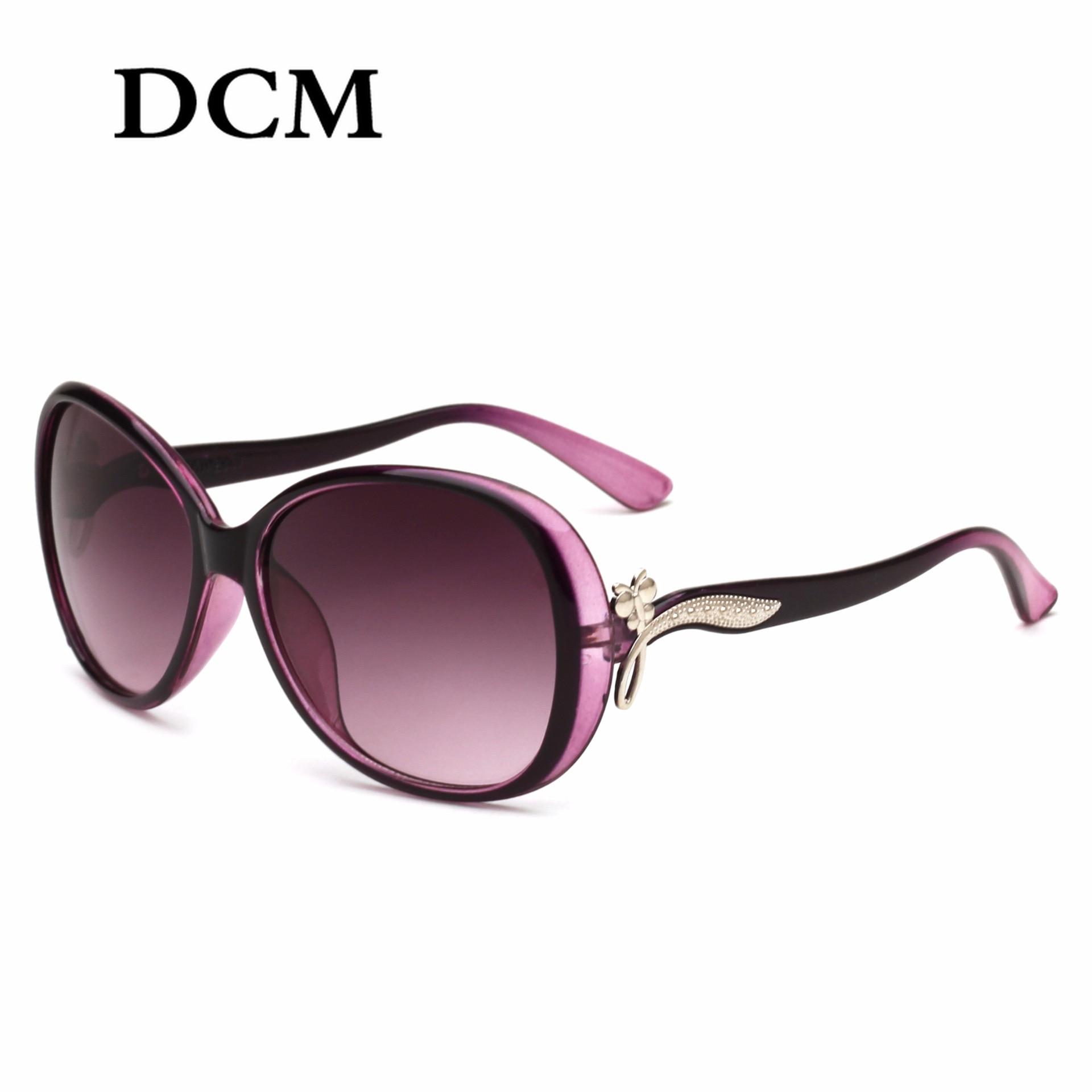 DCM Oval Sunglasses Women Shade New Vintage Retro Sun Glasses Brand Designer Hombre Oculos De Sol Feminino UV400