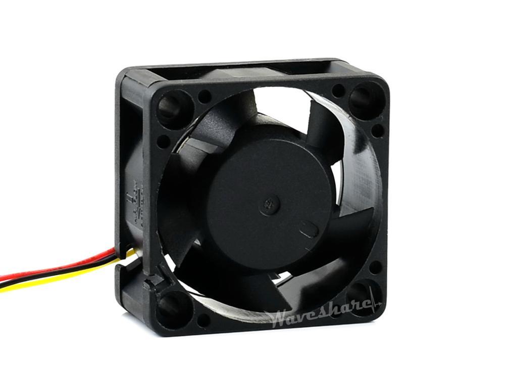 Waveshare dedicado ventilador de refrigeração para jetson nano, ajuste de velocidade pwm, ar de refrigeração forte