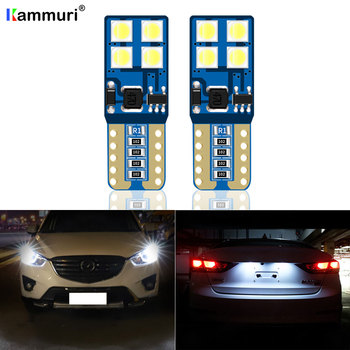 2X W5W T10 LED Parking License Plate Light For Mazda 2 3 kb kl 4 5 cr 6 gh gj 323 bj 626 gf CX-3 CX5 CX-5 CX-7 CX-9 MPV RX-8 RX8 image
