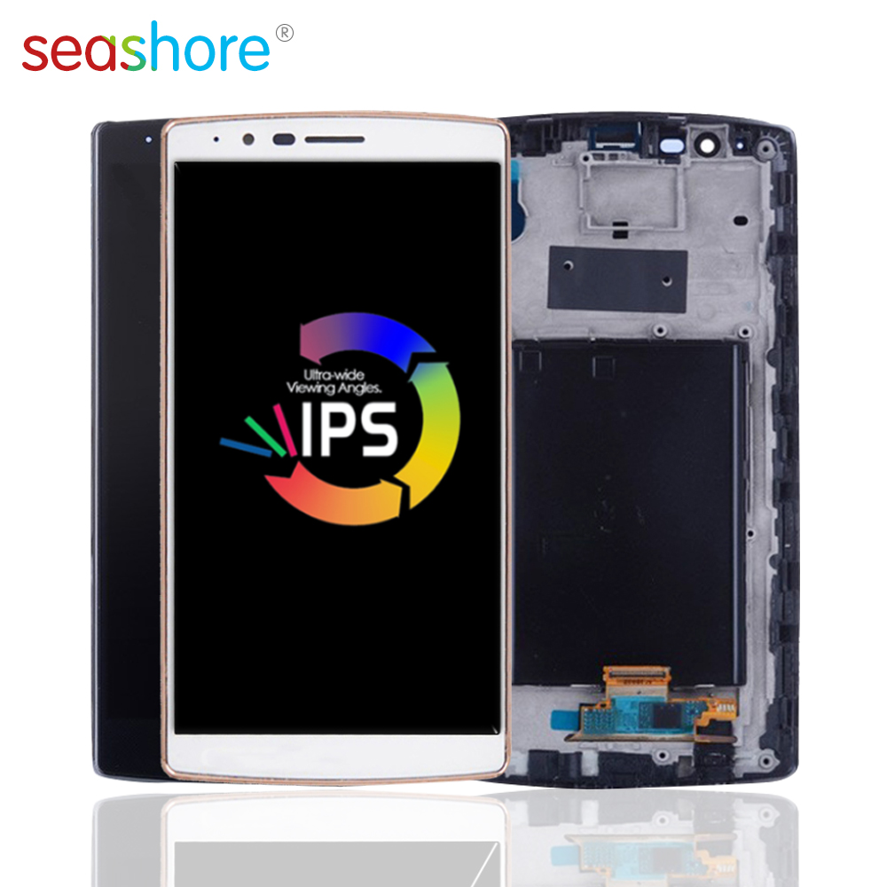 ORIGINAL For LG G4 LCD Touch Screen Digitizer Assembly For LG G4 Display With Frame Replacement H815 H815P LS991 US991 Dual H818