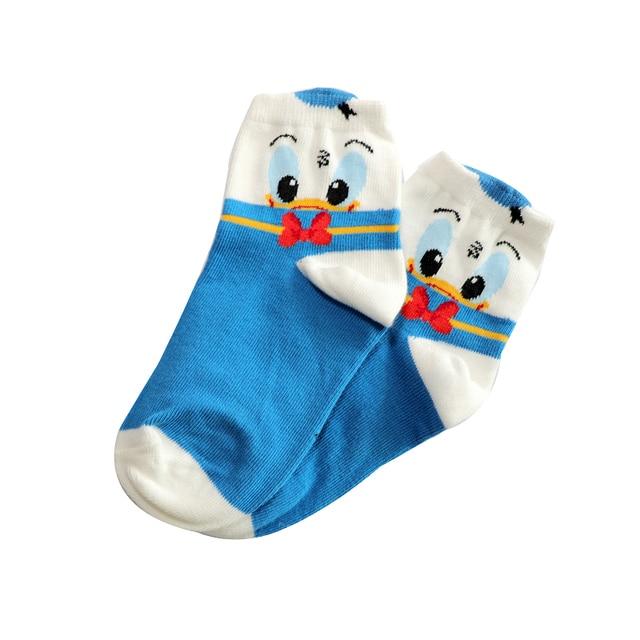 2-12Year Jacquard Mickey Minnie Comfort Warm Cotton High Quality Kids Girl Baby Socks Child Boy children Socks 4
