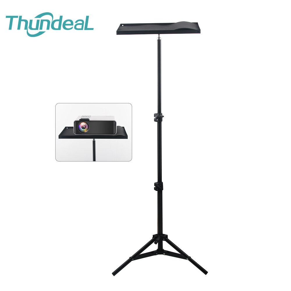 110cm 160cm Universal Portable TD90 TD60 W18 C2 Projector Bracket Projector Tripod Stand Mount Laptop Camera Projection Tripod