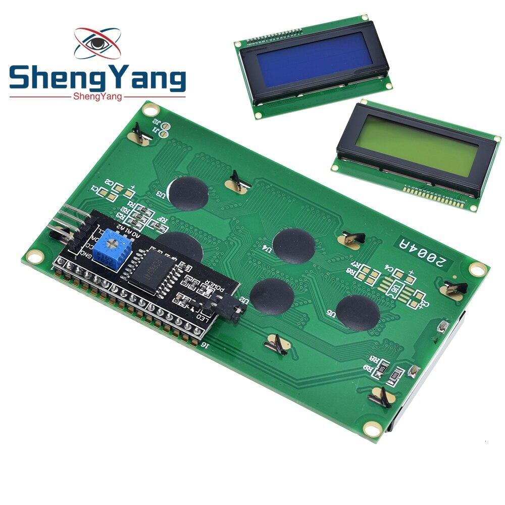 2004 20x4 Blue HD44780 Character LCD IIC//I2C Serial Interface Module Arduino