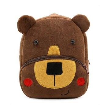 3D Cartoon Plush Children Backpacks kindergarten Schoolbag Koala Animal Kids Backpack Children School Bags Girls Boys Backpacks - 28