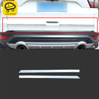 CAR MANGO Car Styling Rear Door Trunk Decoration Cover Trim Frame Sticker Exterior Accessories For Ford KUGA Escape 2017 2018