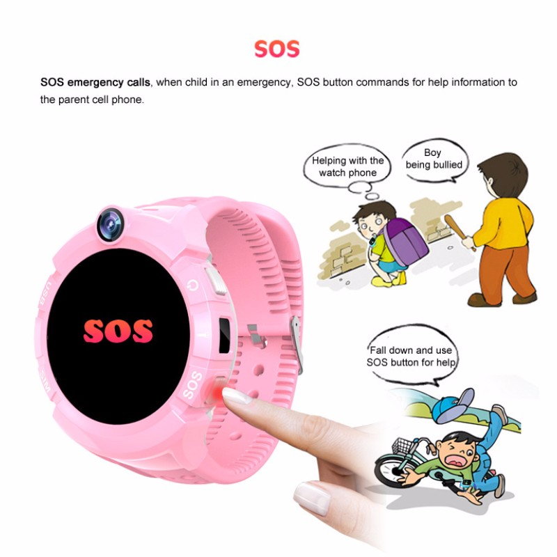 Hb81636842a0c4c83a6e22bc6f0d1f8c9G - New Smart watch Kid SmartWatches GPS Baby Watch for Children SOS Call Location Finder Locator Tracker Anti Lost Monitor