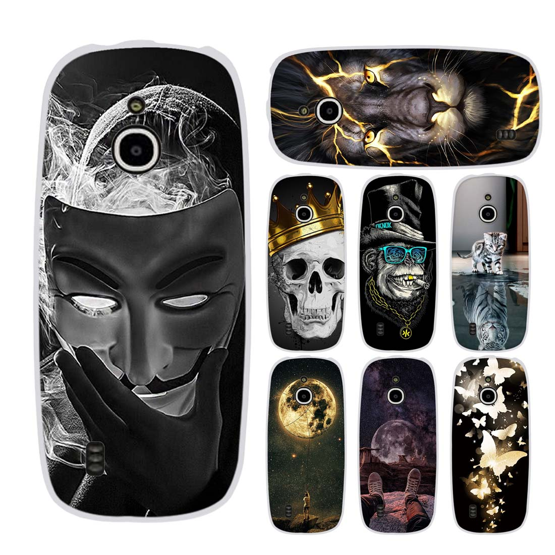 For <font><b>Nokia</b></font> <font><b>3310</b></font> <font><b>3G</b></font> Case Silicone Phone <font><b>Cover</b></font> For <font><b>Nokia</b></font> <font><b>3310</b></font> 4G Full Protective Bumper Shell Case For <font><b>Nokia</b></font> <font><b>3310</b></font> <font><b>3G</b></font> 4G <font><b>Covers</b></font> Capa image