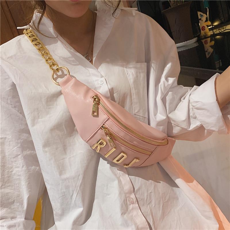 Fashion Bag 2019 New Women Casual Pockets Wild Fashion Chain Single Room Diagonal Multi-function Waist Pack Luis Vuiton Gg Bag
