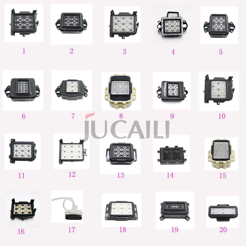 Jucaili 4 Pcs Printer Capping untuk Epson XP600/DX4/DX5/DX7/5113/Mimaki JV33/ ricoh GEN5 Print Head Cap Cap Station