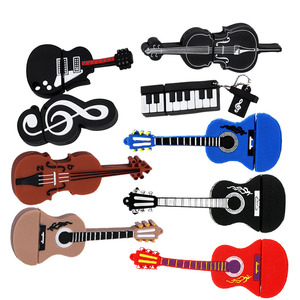 Jaster cartoon 64GB cute Musical instrument Guitar violin Note USB Flash Drive 4GB 8GB 16GB 32GB Pendrive USB 2.0 Usb stick