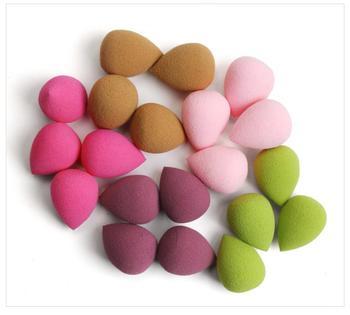 10/20pcs Cosmetic Puff Mini Powder Puff Soft Makeup Foundation Sponge Beauty Make Up Tool Accessories Water-drop Shape Wholesale недорого
