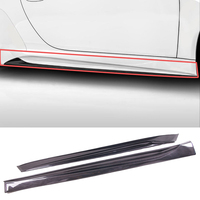 VO R Style Carbon fiber Side Skirts 1pair Fit For Porsche 911 Carrera991.1