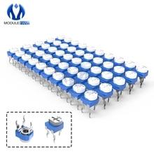 10 шт. RM065 триммерный потенциометр переменный резистор 100R 200R 500R 1K 2K 2,2 K 3K 5K 10K 20K 50K 100K 500K 1M ом RM-065