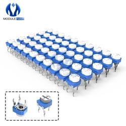 10 pçs rm065 trimpot trimpot potenciômetro resistor variável 100r 200r 500r 1 k 2 k 2.2 k 3 k 5 k 10 k 20 k 50 k 100 k 500 k 1 m ohm RM-065