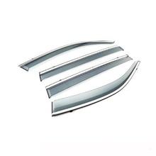 4 Uds. Protector solar de lluvia para ventana de coche, visera, ventana lateral, embellecedor, accesorios de coche para Volkswagen Teramont