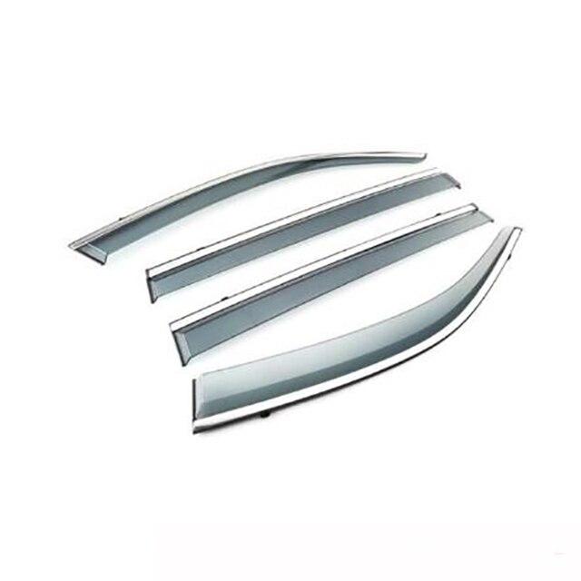 4Pcs Car Window Visor Door Rain Sun Shield Side Windows Cover Trim Auto Accessories For Volkswagen Teramont
