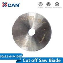 XCAN 1Pc 50X9.5X0.5 มม.100T HSSใบเลื่อยวงเดือนFit #42307 42805 Mini cut Off Sawเครื่องมืออุปกรณ์เสริมMiniตัด