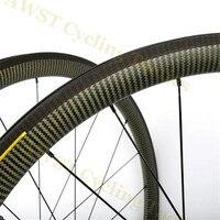 3K Twill Kevlar DT 240S V Brake Road Carbon Wheels 38mm 50mm Rims carbon rims light weight wheels 45mm Clincher Carbon Wheel