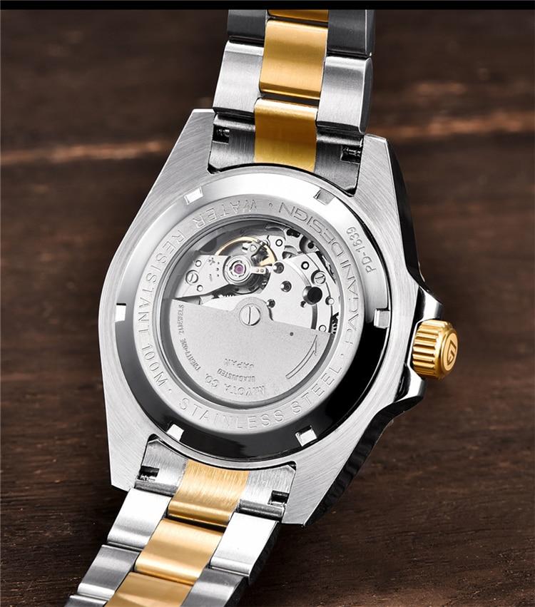 Hb819a1805b3c4e989ca9c273feb6c105H PAGANI Design Brand Luxury Men Watches Automatic Black Watch Men Stainless Steel Waterproof Business Sport Mechanical Wristwatch