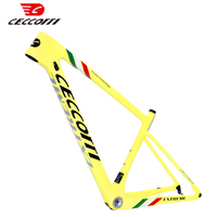 Ceccotti carbon bike frame 148mm thru axle boost 135*9mm quick release carbon mtb frame