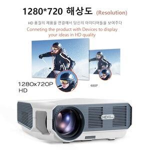 Image 3 - AUN ET10 Series MiNi LED Projectorสำหรับ 3D Video Beamer. 1280X720P, 3800 ลูเมน,สนับสนุน 1080P, HD IN (อุปกรณ์เสริมAndroid 6.0)