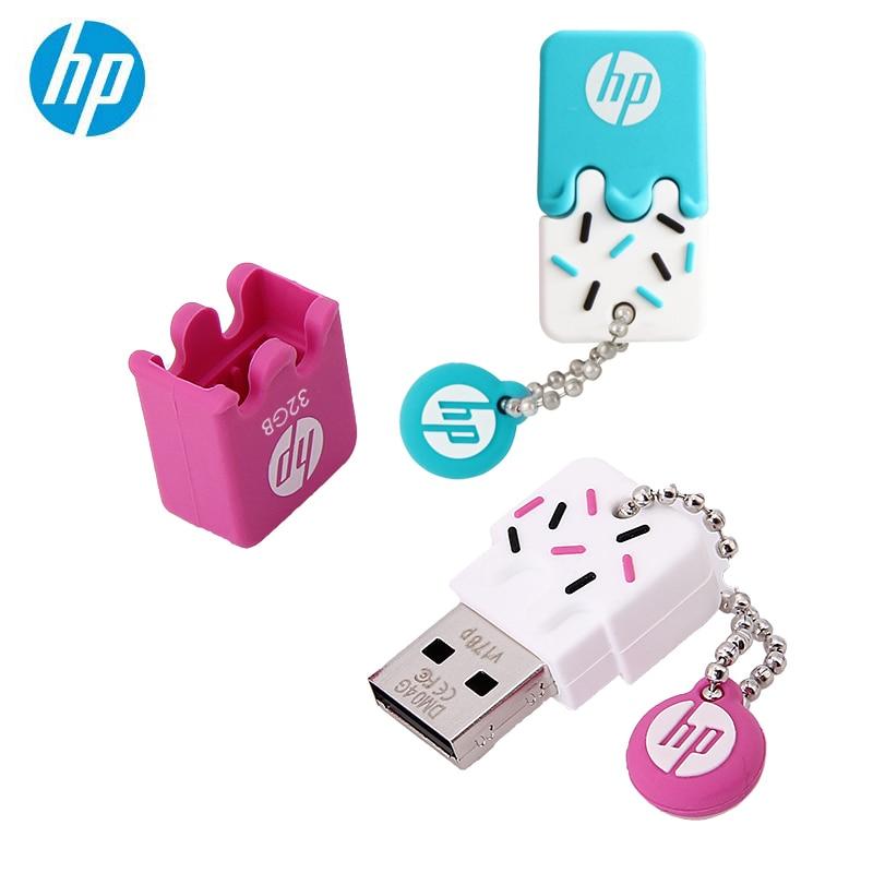 Original HP USB Flash Drive 64GB Silicone Pendrive With DJ OTG Type C Cle USB Disk On Key Mini USB Stick 32GB 16GB Freeshipping