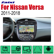 ZaiXi Auto Radio 2 Din Android Car Player For Nissan Versa 2011~2018 GPS Navigation BT Wifi Map Multimedia system Stereo цена