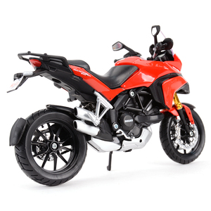 Image 3 - Maisto 1:12 Ducati Multistrada 1200S Red Die Cast Vehicles Collectible Hobbies Motorcycle Model Toys