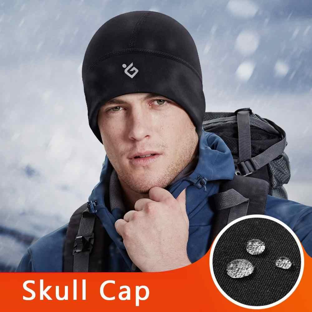สกีฤดูหนาวหมวกผู้ชายผู้หญิงหมวกกีฬากลางแจ้งหมวก Windproof กันน้ำโพลีเอสเตอร์ความหนาแน่นสูงสำหรับสโนว์บอร์ดเล่นสกีขี่จักรยาน