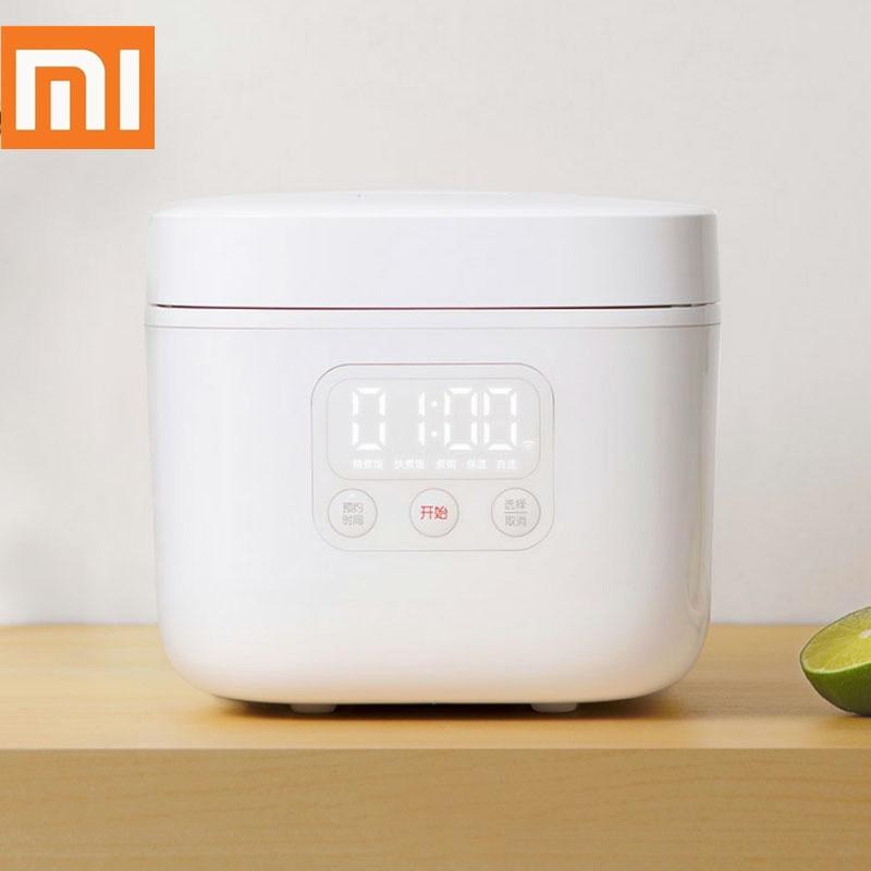 Xiaomi Mijia Мини электрическая рисоварка 1,6 л, мини-рисоварка для кухни, 1 человек, умный светодиодный дисплей