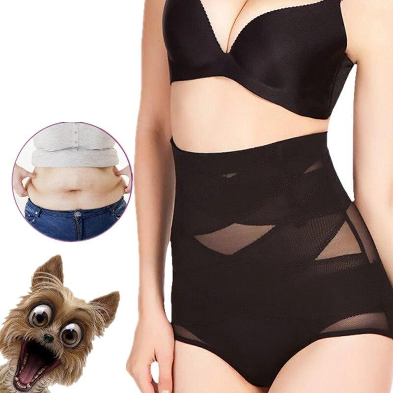 Women High Waist Trainer Body Shaper Panties Tummy Belly Control Body Slimming Control Shapewear Girdle Underwear Seamless New