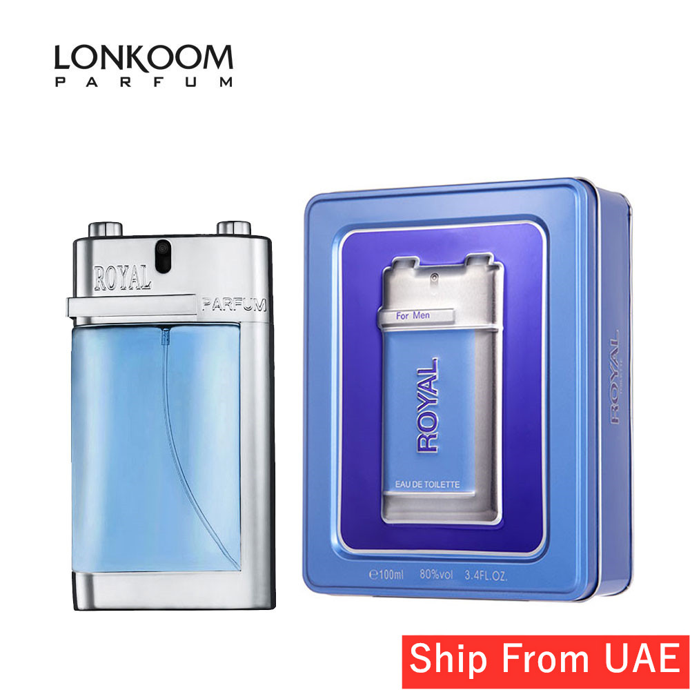 LONKOOM 2020 Perfume ROYAL Aromatic-Fougere Spray Fragrance Long Lasting Aroma Eau De Toilette For Men 100ml Free Shipping