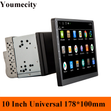 Youmecity 10 inch screen Octa core 2 din android 9.0 universal Car Radio Double DVD GPS Navigation In dash PC Stereo video wifi