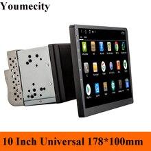 Youmecity 10 pouces écran Octa core 2 din android 9.0 universel autoradio Double DVD GPS Navigation dans tableau de bord stéréo vidéo wifi