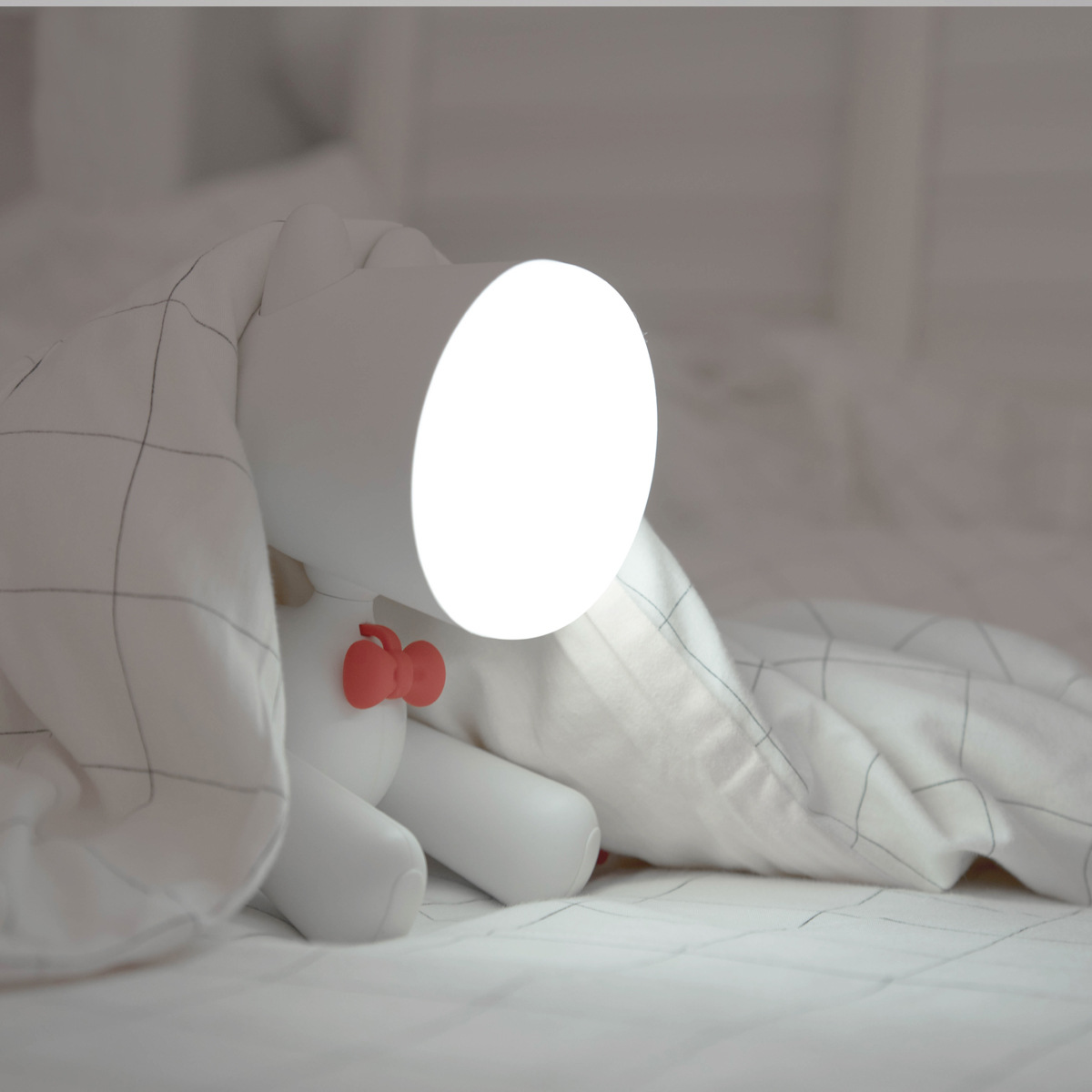 2020 Pup Led Night Lamp for Children 1200mAh Rechargable ELK Night Lights Adjust Brightness table lamp for Home in Bedroom