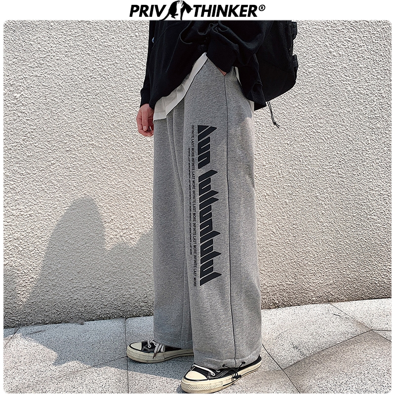 Privathinker Men Black Straight 2020 Japan Style Harem Pants Mens Loose Collage Pants Male Streetwear Trousers Fashions Buttoms