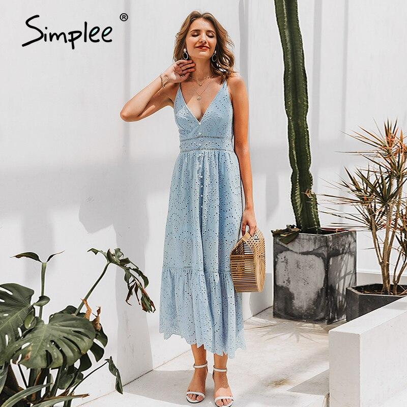 Simple Elegant Yellow V-neck Women's Dress  Spaghetti Strap Female Ruffle Cotton Dress Summer Beach Style Ladies Midi Dresses