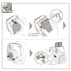 Image 5 - 10 200 فوجي فوجي فيلم Instax Mini 11 9 8 7s 70 90 ورق طباعة الصور الأفلام حافة بيضاء 3 بوصة للكاميرا الفورية مع تنظيف الملابس