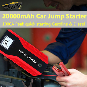 Image 2 - Gkfly High Power 20000Mah Auto Jump Starter 1000A 12V Start Apparaat Power Bank Autolader Voor Auto Batterij booster Buster Led