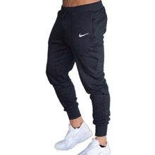 Pantalones deportivos informales para hombre, ropa deportiva de fitness, pantalones estrechos deporte, color negro, pantalones deportivos de gimnasia